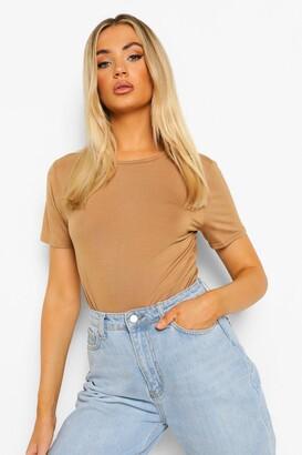 boohoo Basic T-Shirt Bodysuit