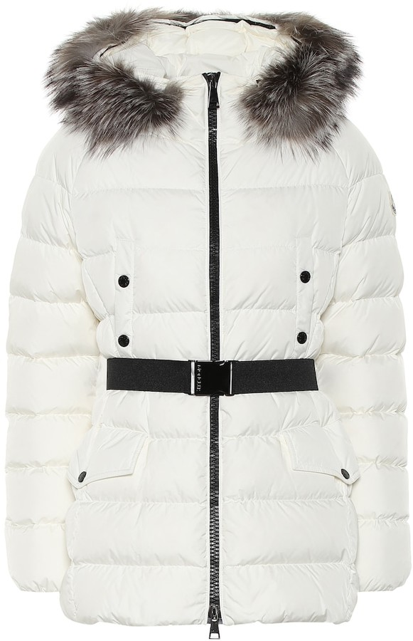 a2dc18a60 Clion quilted fur-trimmed down coat