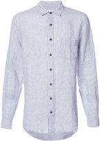 Onia Abe shirt - men - Linen/Flax - S