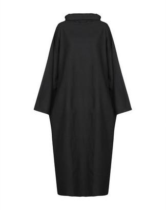 Black Crane 3/4 length dress