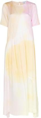 Collina Strada Ritual tie-dye maxi dress