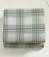 L.L. Bean Ultrasoft Comfort Flannel Sheet, Fitted Windowpane