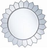 One Kings Lane Polk Wall Mirror, Antiqued Silver