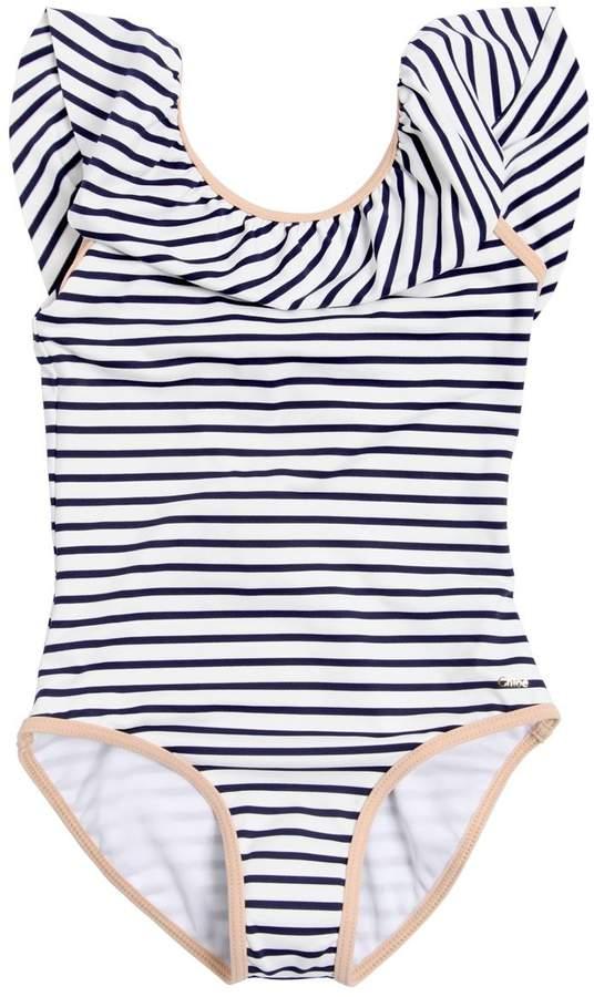 Chloé Striped Lycra One Piece Swimsuit