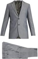 Lanvin Attitude-fit Wool And Cotton-blend Suit