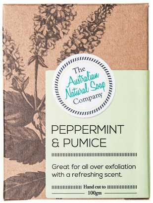 The Australian Natural Soap Company Peppermint & Pumice