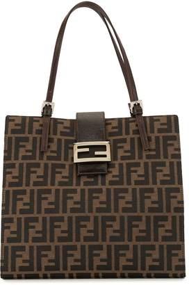 Fendi Pre-Owned Zucca pattern tote