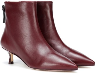 Stuart Weitzman Juniper 45 leather ankle boots
