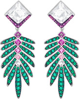 Swarovski Gisele Pierced Earring Jackets, Green