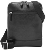 Fossil Men's 'Rory' Leather Crossbody Bag - Black