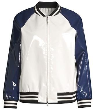 Jane Post Varsity Slicker Jacket