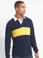 Gap Chest stripe rugby shirt