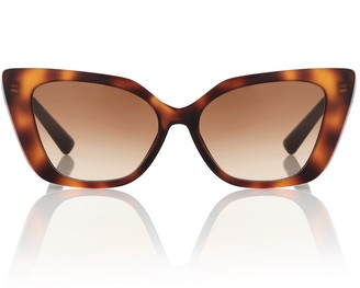 Valentino VLOGO acetate cat-eye sunglasses