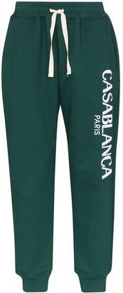 Casablanca Logo-Embroidered Track Pants