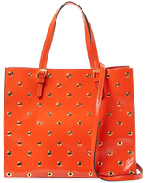 RED Valentino Leather Tote Bag