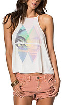 O'Neill Haze Graphic High Neck Knit Tank Top