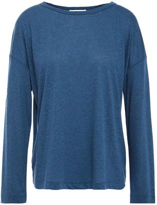 Vince Tencel, Linen And Cotton-blend Jersey Top