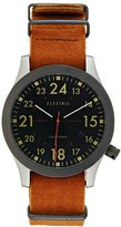 Electric Nato Watch Black/brown