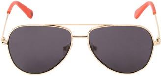 Stella McCartney Kids Aviator Metal Sunglasses