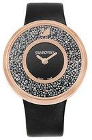 Swarovski Women's Crystalline 5045371 Leather Swiss Quartz Watch