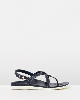 Vionic Women's Navy Strappy sandals - Veranda Backstrap Sandals - Size One Size, 6 at The Iconic