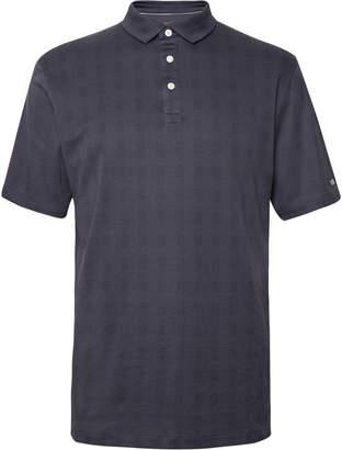 Nike Player Checked Dri-Fit Polo Shirt