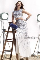 Alyce Paris Claudine - 2438 Dress in White Royal