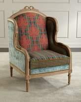 Mackenzie Childs MacKenzie-Childs Inverness Wing Chair