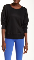 David Lerner Coated Sweatshirt