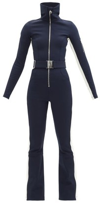 Cordova Belted Technical-twill Ski Suit - Navy