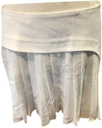 Rue Du Mail White Cotton Skirts