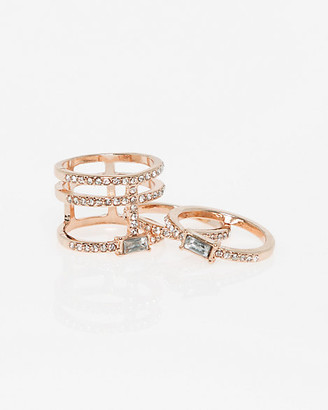 Le Château Set of Three Stackable Rings