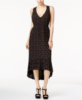 Jessica Simpson Cotton Floral-Print High-Low Dress