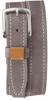Trask 'Alpine' Nubuck Leather Belt