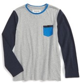 Quiksilver Boy's Baysic Pocket T-Shirt
