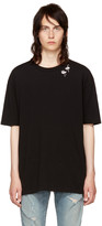 Saint Laurent Black Flamingo T-Shirt