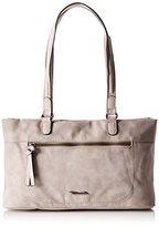 Tamaris Twiggy Shoulder Bag, Women's Shoulder Bag, Grey/ Beige, ( EU)