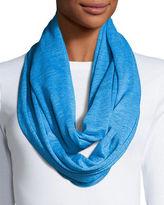 Caroline Rose Linen Knit Infinity Scarf