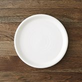 Crate & Barrel Farmhouse White Salad Plate
