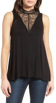 BP Women's Lace Inset Tank