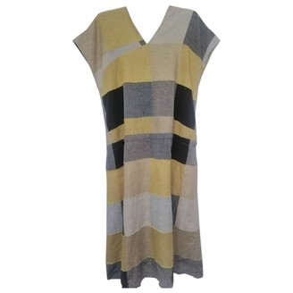 Issey Miyake Multicolour Cotton Dresses