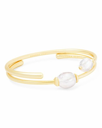Kendra Scott Amiya Cuff Bracelet in Pearl