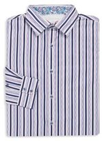 Robert Graham Big & Tall Striped Sportshirt