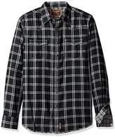 Wrangler Men's Tall Size Retro Two Pocket Long Sleeve Shirt