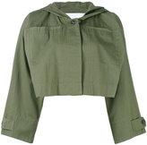 Alexander Wang cropped military jacket - women - Cotton - XS