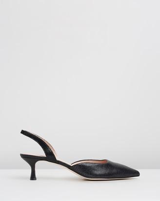 Atmos & Here Milan Leather Heels