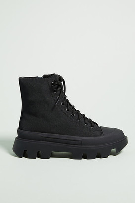 Jeffrey Campbell Hiker Boots By in Black Size 6