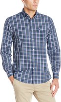 Dockers Long Sleeve Multi Plaid Cvc Woven Shirt