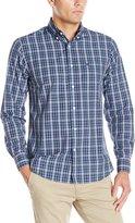Dockers Long Sleeve Multi Plaid Cvc Woven Shirt
