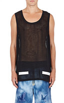 Off-White MEN'S MESH TANK